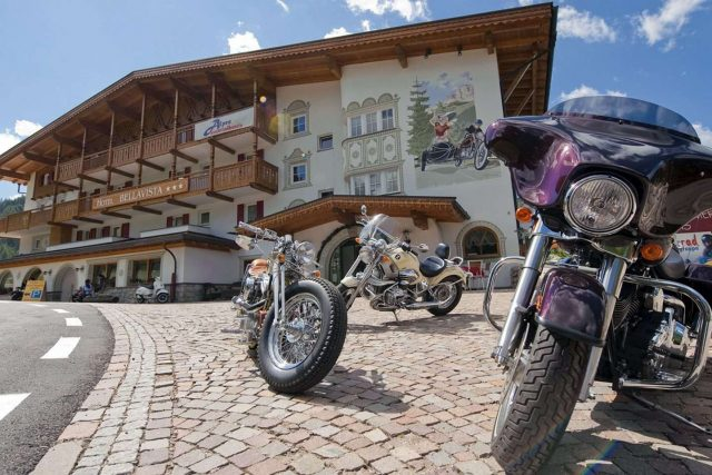 Motorcycle tours in the Dolomites
